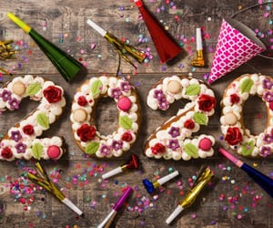 2020, celebration, and happy new year image
