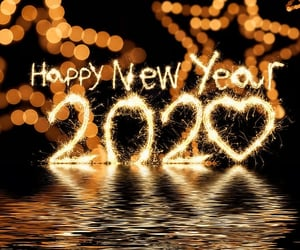 2020, happy new year, and beautiful image
