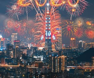 2020, buildings, and happy new year image