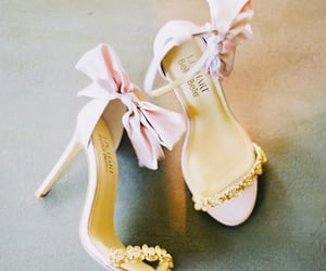 heels, pink, and pretty image