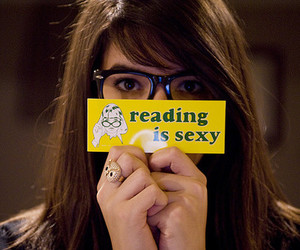 reading and sexy image