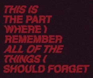 quotes, grunge, and red image