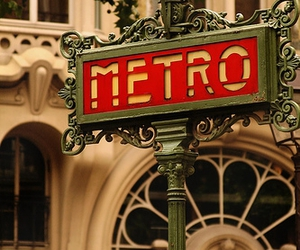 Art Nouveau, metro, and sign image