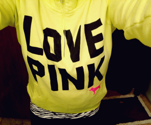 fashion and love pink image