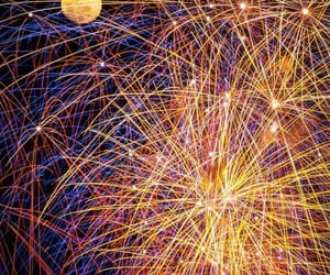 luna, artificio, and fuochi image