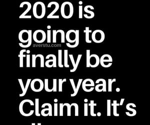2020, finally, and quote image