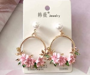 accessories, flowers, and pink image