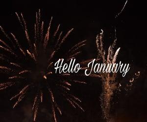 2020, fireworks, and january image