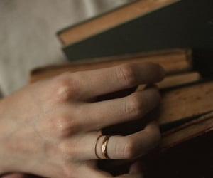 book, aesthetic, and hands image