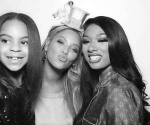blue ivy, beyoncé, and megan thee stallion image