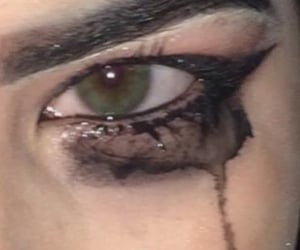 aesthetic, eyes, and goth image