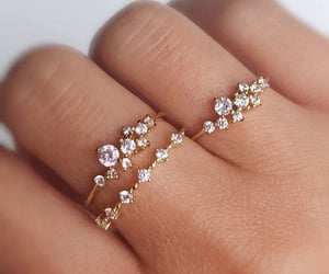 style, rings, and jewelry image