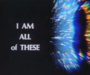 aesthetic, grunge, and hologram image