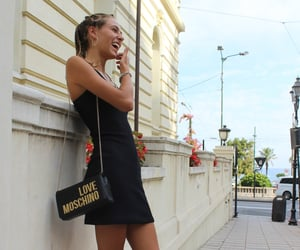 chic, Moschino, and smile image