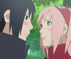 anime, couple, and naruto image