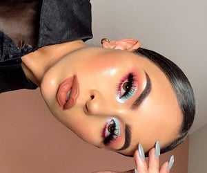 beauty, colorful, and eyeshadow image