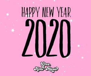 2020, happynewyear, and loveaokimarie image