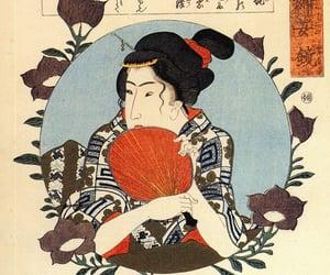 art, china, and ukiyo-e image