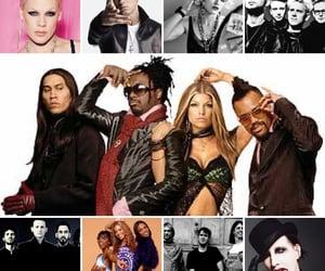 celebrities, nirvana, and the black eyed peas image