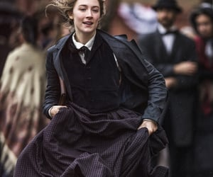 Saoirse Ronan, little women, and jo march image