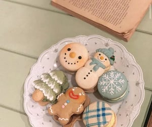 sweet, christmas, and food image