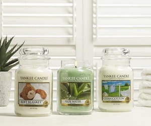 candles, wax, and yankee image
