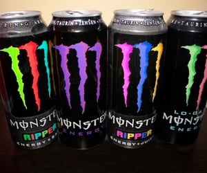 monster, drink, and energy image