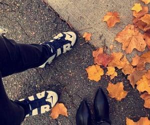 autumn, boston, and jordans image