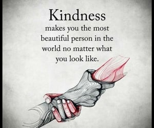 beautiful, human, and kindness image