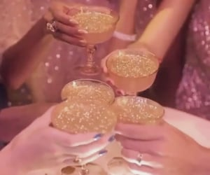 70s, aesthetic, and champagne image