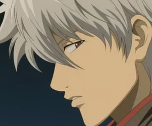anime, gintama, and gintoki image