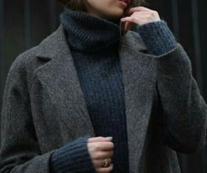 blue, winter, and fashion image