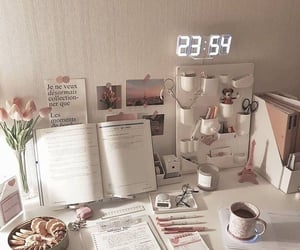 study, desk, and goals image