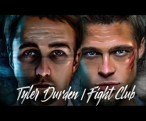 art, drawing, and fight club image