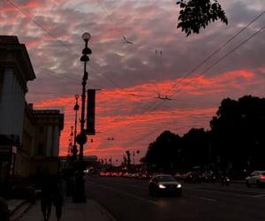 beauty, romantic, and sunset image