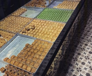 baklava, orient, and travel image