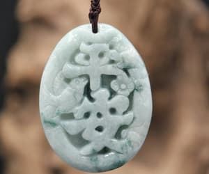 etsy, pendant necklace, and jade necklace image