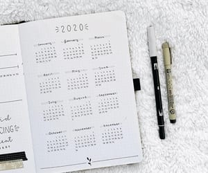 2020 and bullet journal image