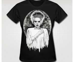 Bride of Frankenstein, monster, and goth image