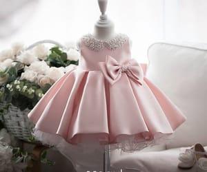 beading, girl, and little girl dress image