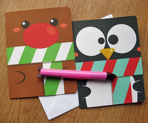 card, cards, and christmas image