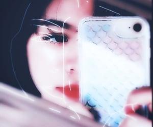 aesthetic, black eyes, and beautiful image