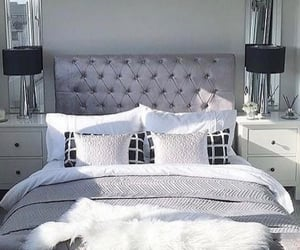 bedrooms, white room, and cute rooms image
