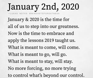 2020, january, and new year! image