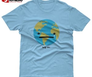 help me world t shirt image
