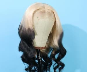 fashion, hairstyle, and hairextension image