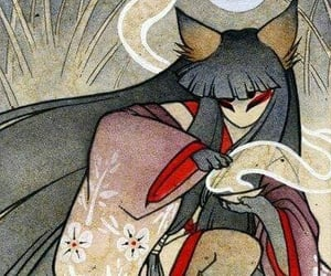 fox and kitsune image