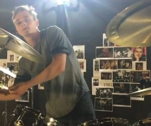 actor, beautiful, and drums image