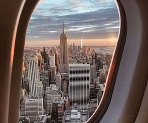 travel, new york, and city image