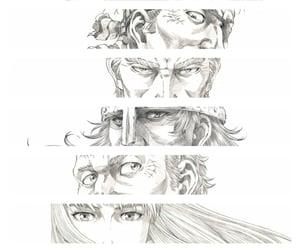 bjorn, vinland saga, and thorfinn image
